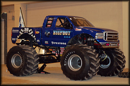 before bigfoot Bigfoot Monster Truck