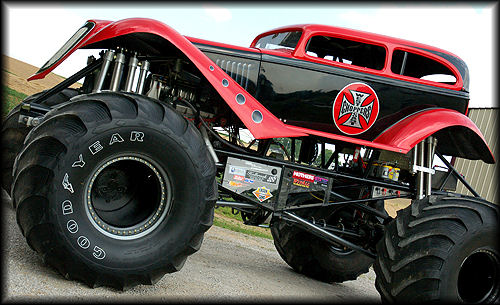 The MEGA Monster Truck Tour