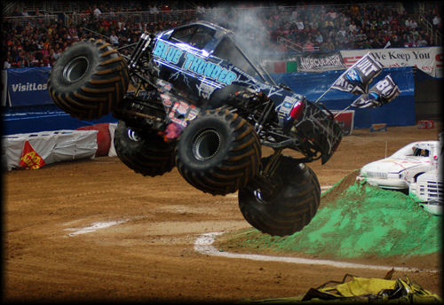 003 Blue Thunder Monster Truck